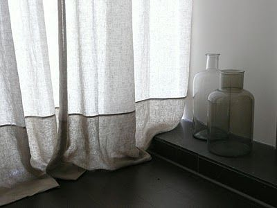 belgian linen curtains from 'chasing simple' chasingsimple.blo...