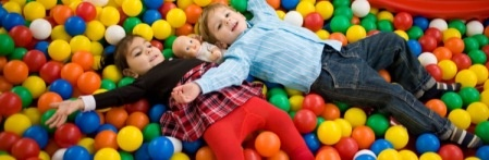 Jacks Fun World:  perfect for rainy day (out by Tegel S:Eichborndamm).  Open 2-7pm T-F; 10-7 S, Su and Holidays.    Has bumper boats, mini golf, rodelbahn, bounce house, trampoline, ball pit and more.    Must wear socks.