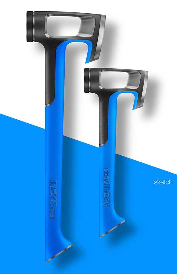 HAWKaxe and tomaHAWK tools on Behance Product Design #productdesign