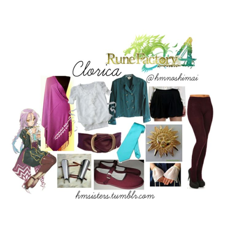 Rune factory 4 clorica on polyvore by hmsisters/hmnoshimai