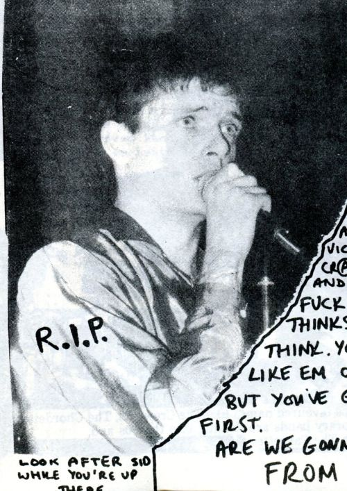 Joy Division: Ian Curtis, Panache fanzine, issue #13, 1980