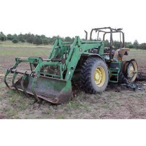Tractor Equipment Salvage Yards : John deere tractor salvaged for used parts call