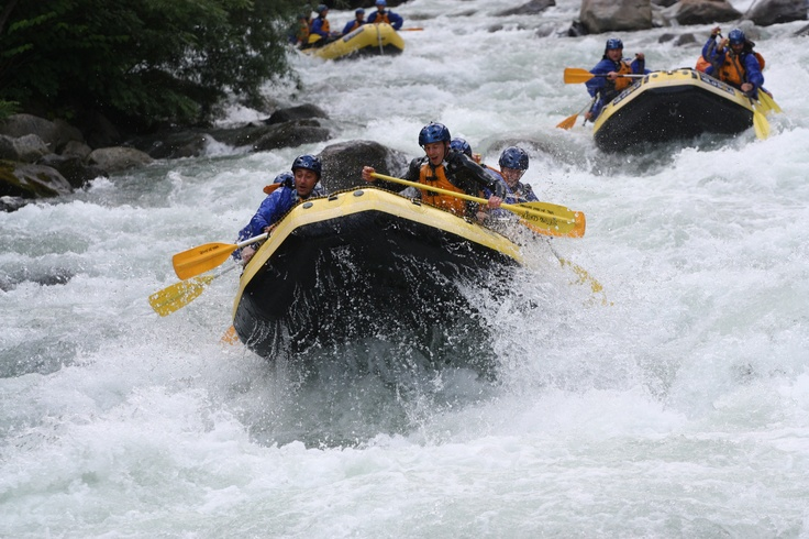 Rafting in Val di Sole - Trentino - Dolomiti. www.raftingcenter.it