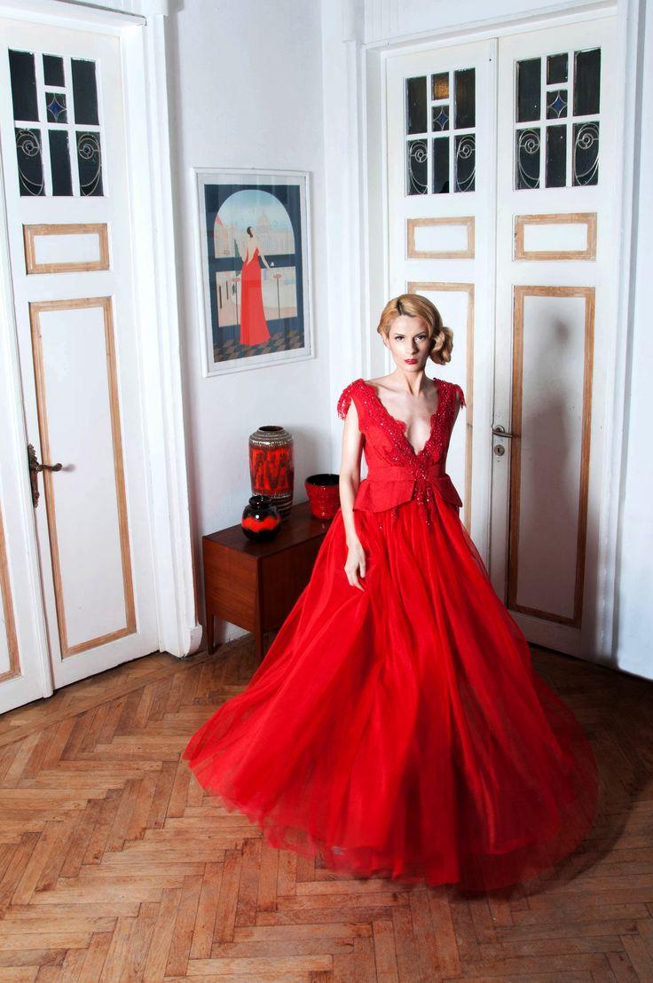 Denis Predescu Dress