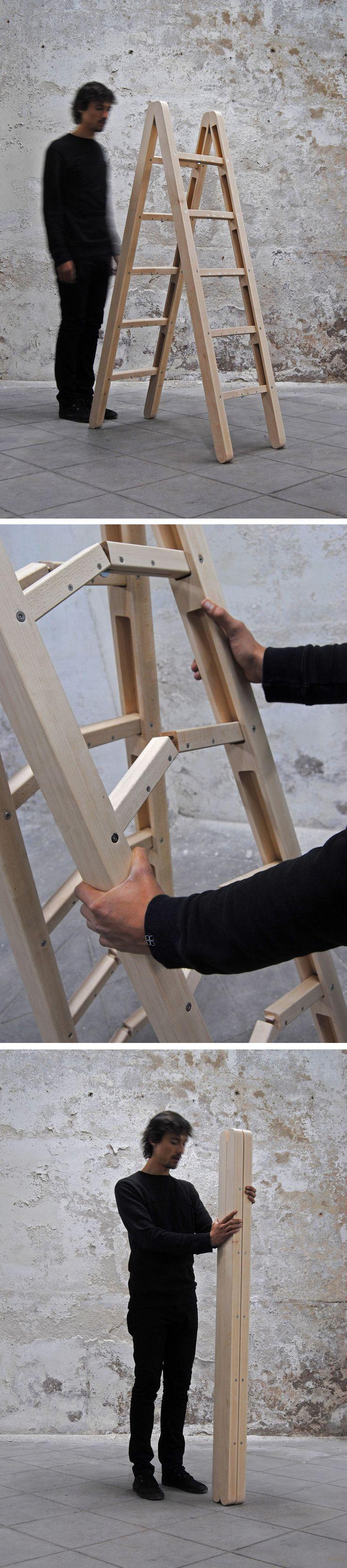 Corner Ladder by Company & Company Design Studio NO WAY ! SO COOL