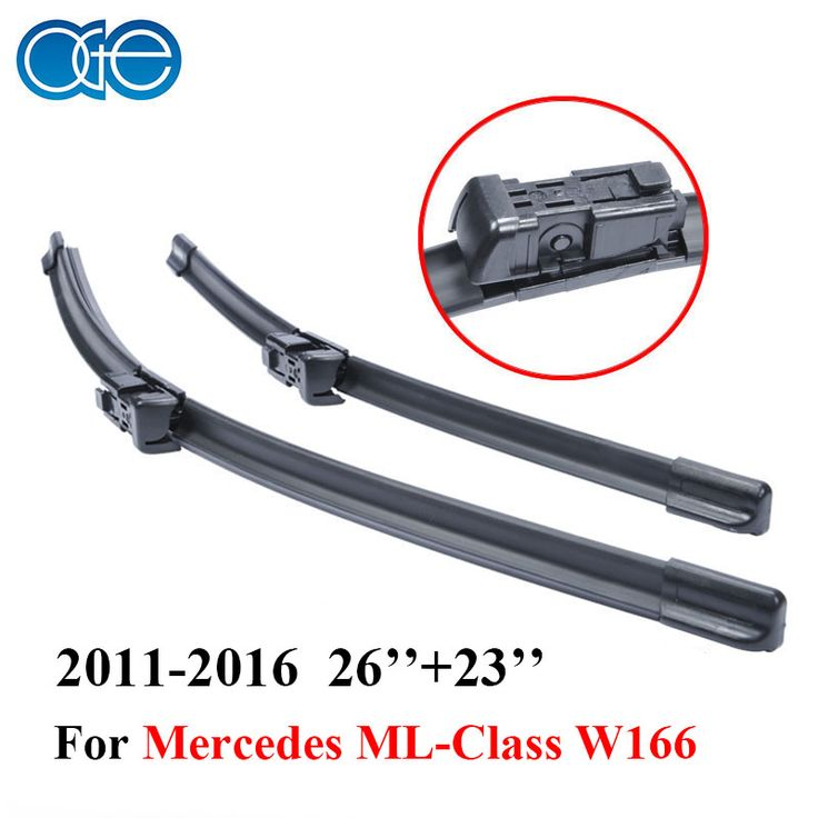 OGE Pair Windscreen Wiper Blades For Mercedes ML Class W166 2011-2016 Pair Windshield Silicone Rubber Auto Car accessories #Affiliate