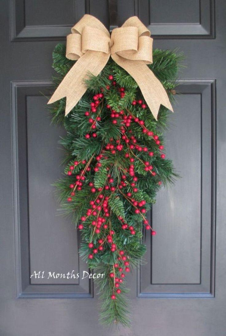 20 festliche Weihnachtskränze die Ihrem Zuhause Freude konfektionieren