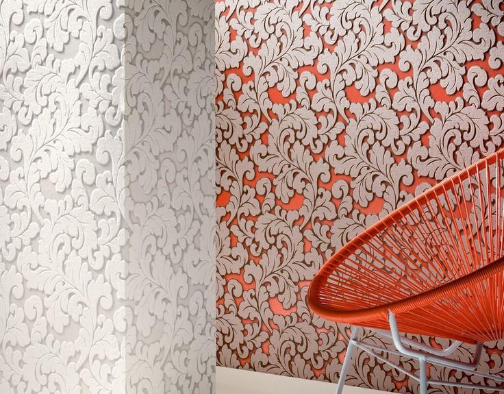 El #papelpintado decora. La Coleccion #flock4 además crea estilo