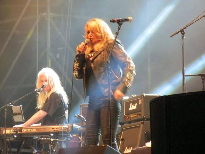 #bonnietyler #concert #france #harleydavidson #eurofestival #rock #portgrimaud #HD #sttropez  Photo: Adventure St Tropez  http://www.the-queen-bonnie-tyler.com/