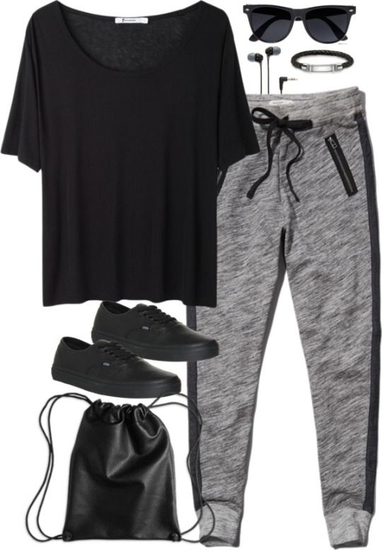 I like this outfit idea for uni except I'd probably choose different shoes and a bag, and add a jumper :) x
