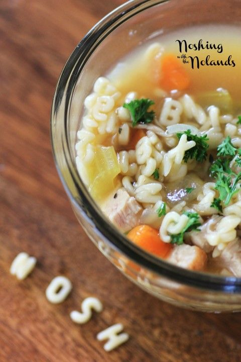 Alphabet Soup, have fun with your kids