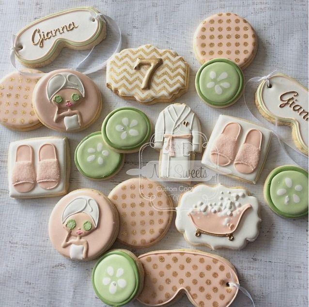 """Natasha on Instagram: """"Spa cookies"""