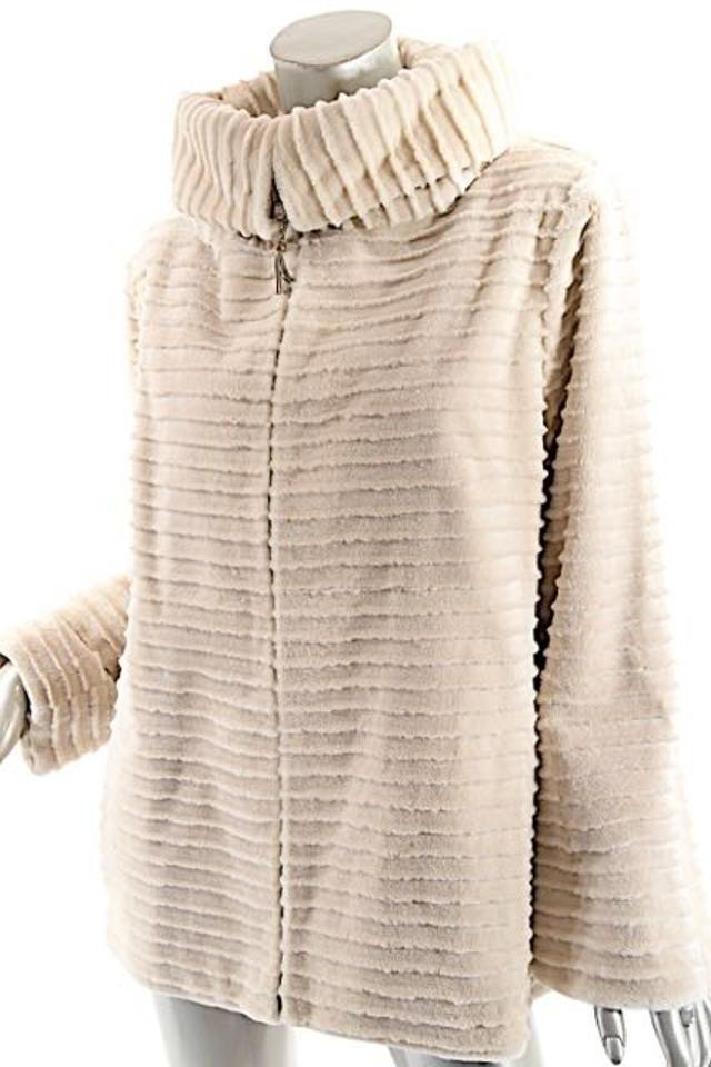 ZANDRA RHODES Pologeorgis Fur Coat