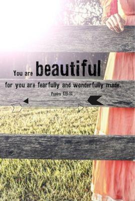 You are beautiful - Morgensterkaarten - Ark Media