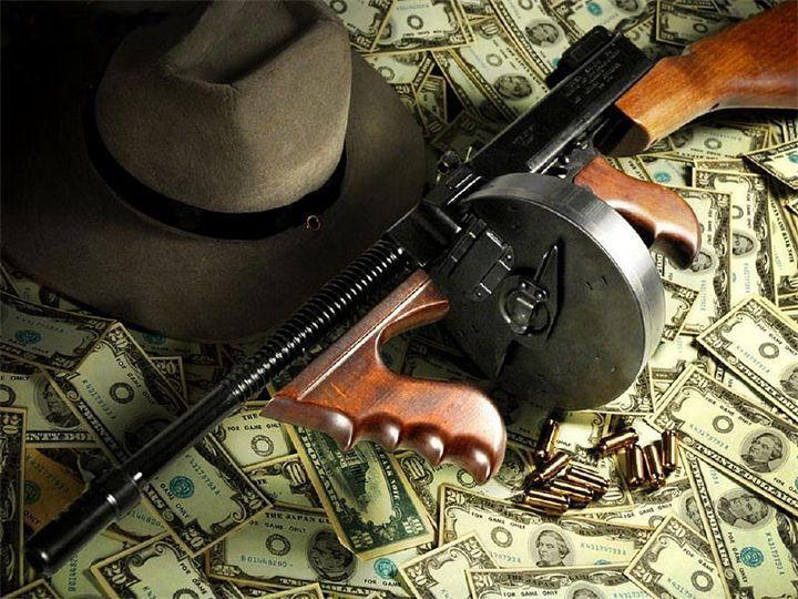 10 отметок «Нравится», 1 комментариев — ОРУЖЕЙНЫЕ ФАКТЫ (@weaponsfan) в Instagram: «🔵 Пистолет - пулемет Томпсона (Томми - ган). Американский пистолет - пулемет, разработанный…»