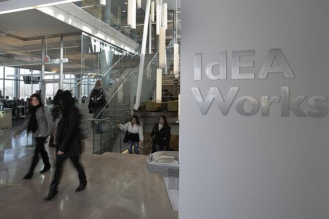 IdEA Works, Fennell Campus. #ExploreMohawk