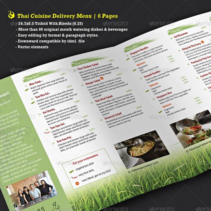 34 best Tri Fold Menu images on Pinterest Brochures, Meals and - restarunt brochure