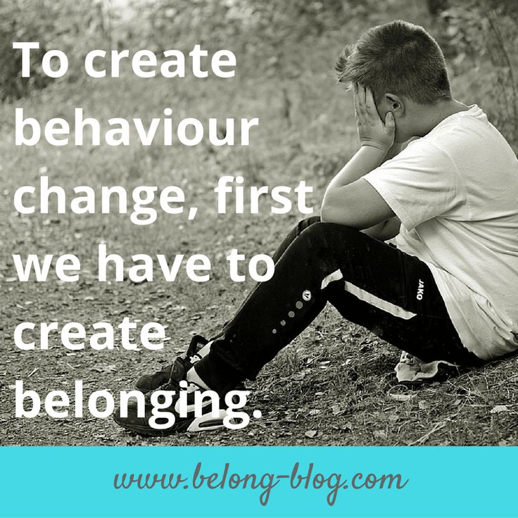 To create behaviour change we first have to create belonging. Fostering and Adoption.
