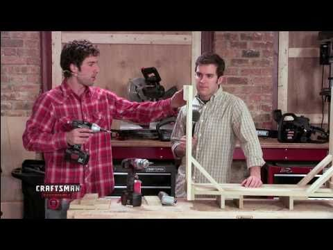Craftsman Experience - How to Make an Indoor and Outdoor Firewood Rack - YouTube