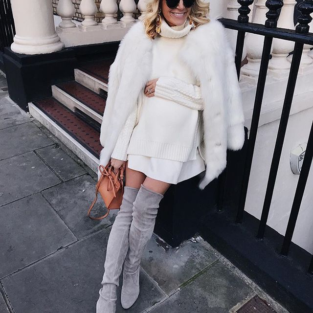 Morning! Making the most out of dressing up and winter whites before I have a newborn 😍 Coat is from Topshop but from last winter so I've tried to find some similar ones for you ❄️❄️ http://liketk.it/2tlNn #liketkit @liketoknow.it #ltkbump