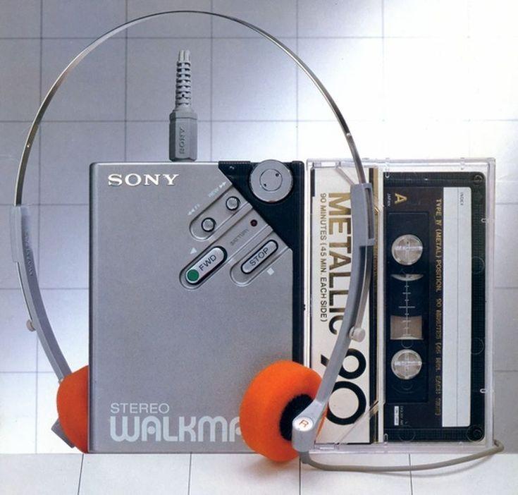 High Tech -  SONY WM-2 1981