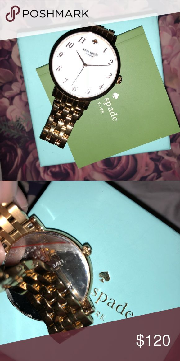🔥🔥Kate spade ♠️ watch🔥🔥NWOT💗 Gold watch! Still has sticker on back! kate spade Accessories Watches