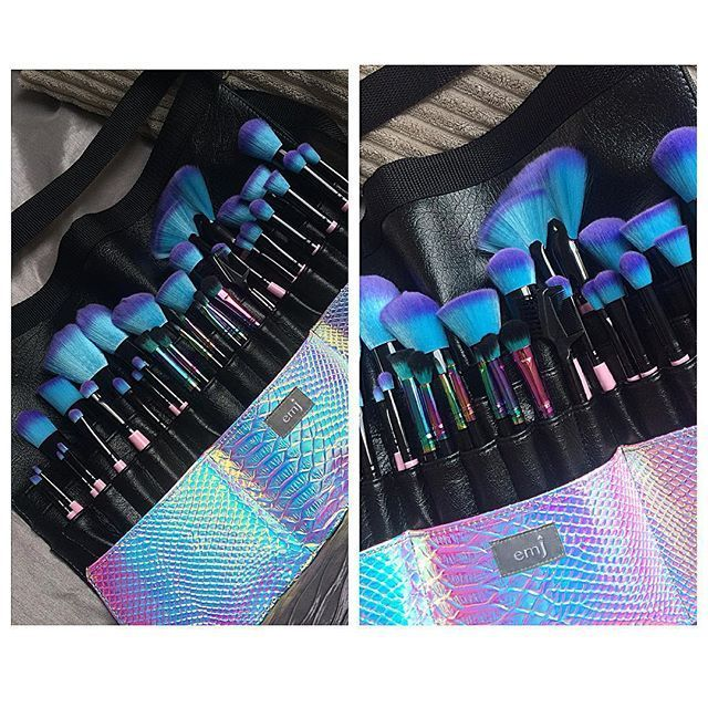 Makeup Ideas: Vibrant makeup brushes, tools and accessories. Hand finished, vegan and cruelty free. Apply your makeup with works of art.