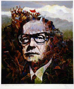 Salvador Allende, personaje importante en la vida de Isabel.