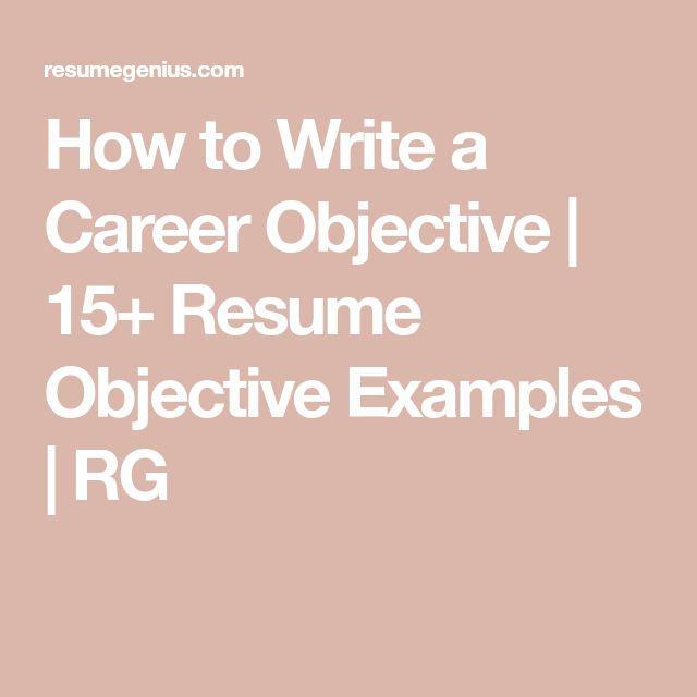 292 best Good to know (useful info) images on Pinterest Career - resume objective