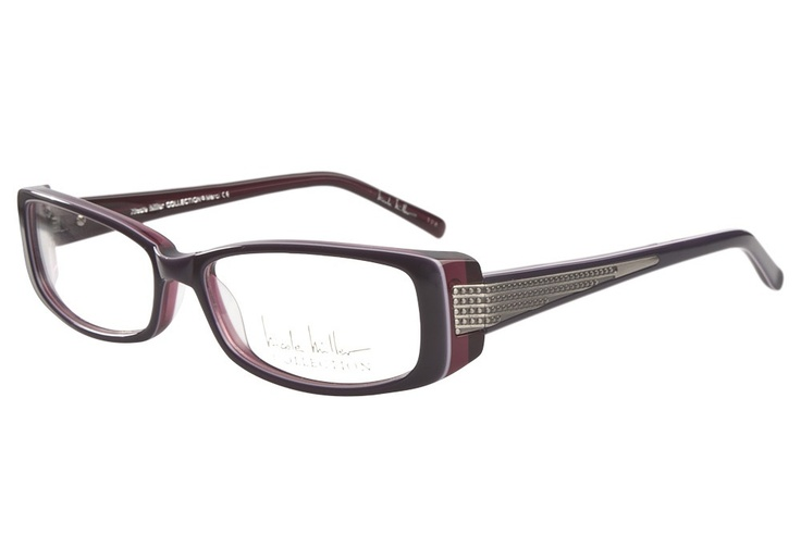 Nicole Miller Merci Violet Creme | It's Your Lucky Day! Love this frame? Re-pin it for your chance to win it!