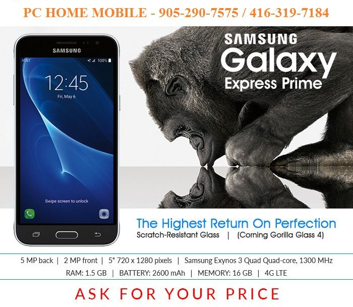 Galaxy Express Prime @ PC HOME MOBILE