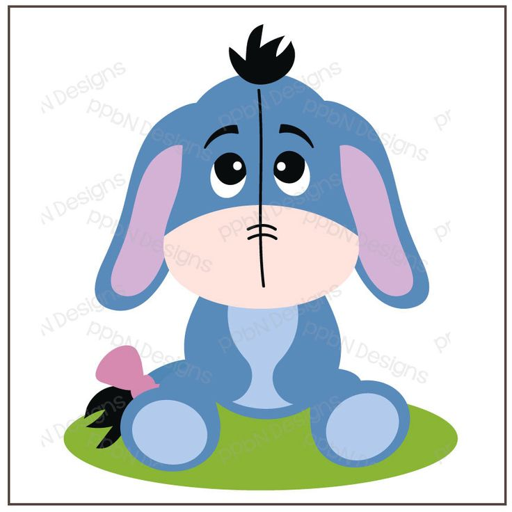 PPbN Designs - Gloomy Donkey (Free for Members ONLY), SVG,SVG cutting files,cut files