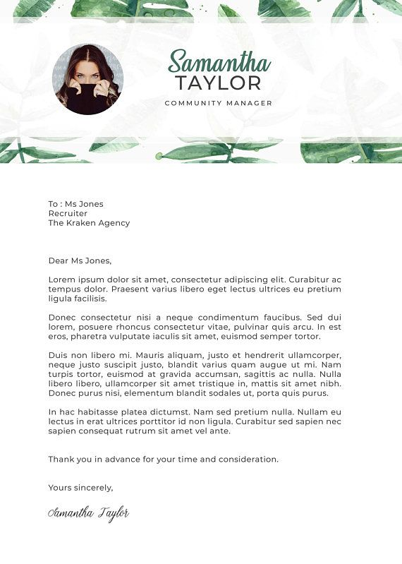 tropical leaves   template resume   cv