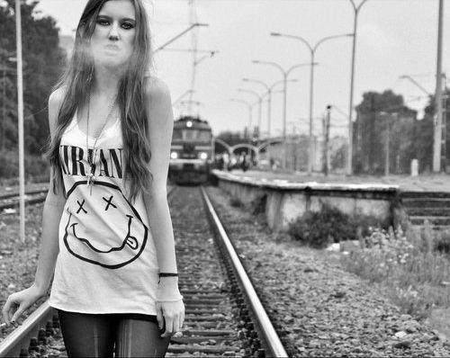 Chicas metaleras y rockeras.