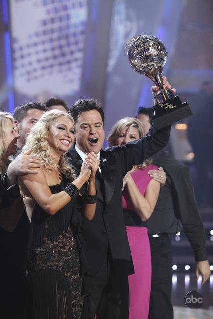 Donny Osmond and Kym Johnson - Dancing with the Stars.I loved Donny so much & i still do.Please check out my website thanks. www.photopix.co.nz