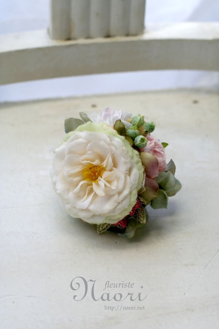 corsages ローズと紫陽花 2014