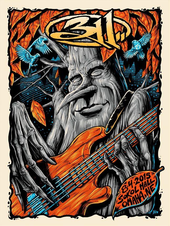 Image of Brandon Heart 311 Omaha, NE Poster