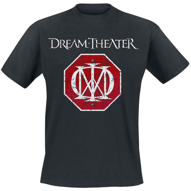 Logo - Dream Theater - T-paita, koko M