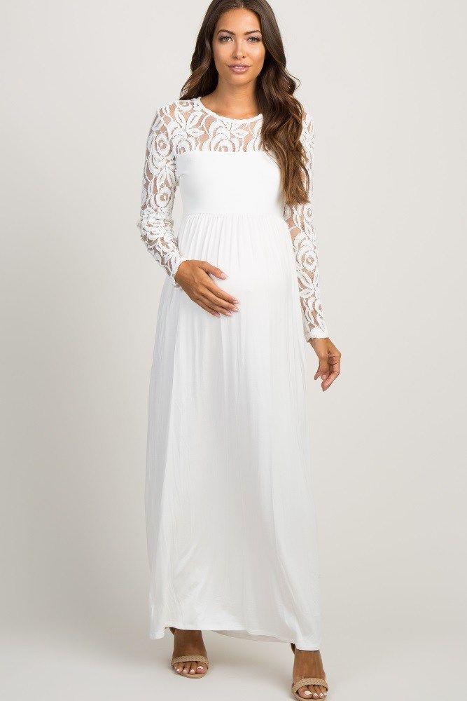 Pin On White Maternity Dresses