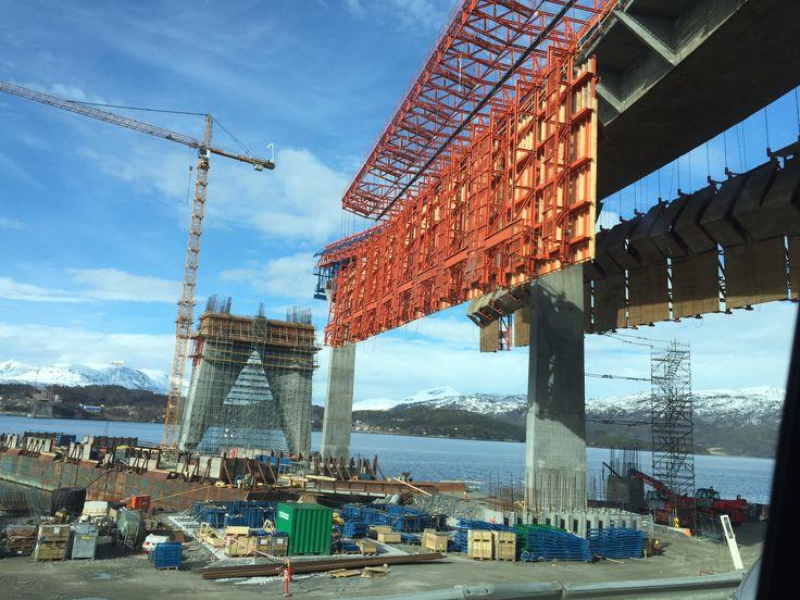 Brobygging i Narvik