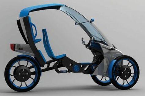 Le premier vélo-voiture conçu via internet