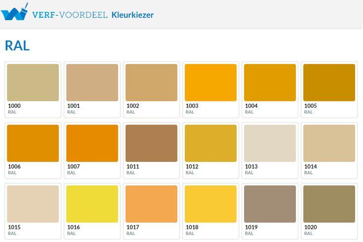 Verf-Voordeel | Kies na het zien van alle inspirerende foto's uw favoriete kleur geel & grijs makkelijk uit via de RAL kleurenwaaier op www.verf-voordeel.nl #Wooninspiratie #Geel #Grijs
