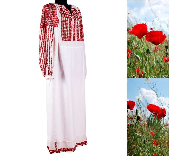 Freedom of the nature. #florideie #fashion #style #designer #romania #flowers #red #unique #handmade #vintage #embroidery