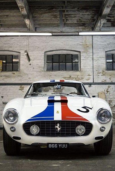 Ferrari 250 SWB || #WORMLAND Men's Fashion Car Style