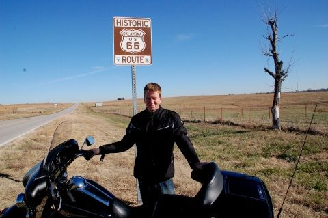 Harry Takes In Route 66