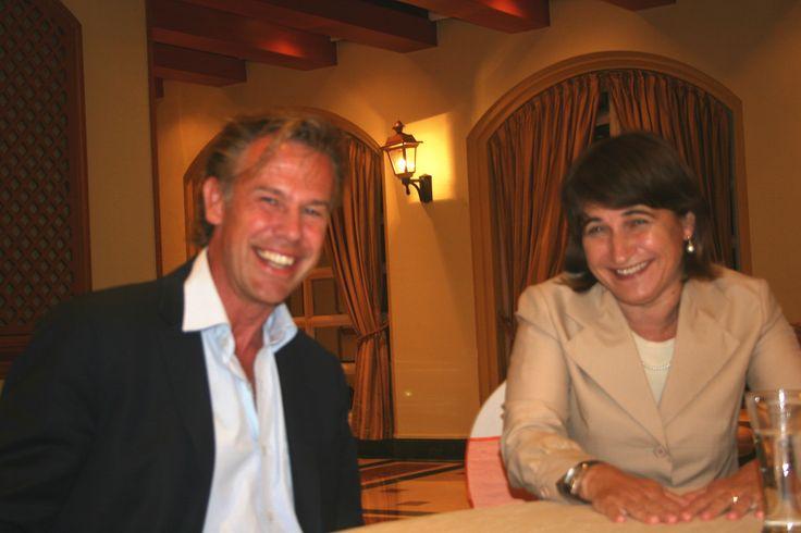 Minster Lilianne Ploumen in gesprek met Edgar kiwiet (CEO, InShoring Pros)
