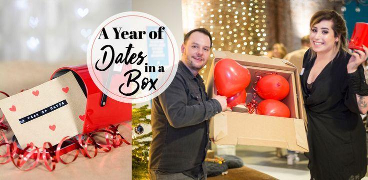 Das perfekte Geschenk für Paare – A year of Dates in a Box DIY deutsch