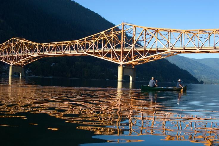 Big Orange Bridge Nelson, BC
