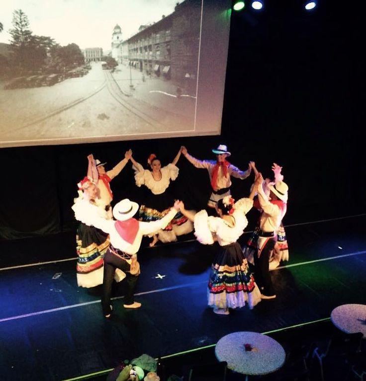 La historia de Antioquia contada por nuestros mejores bailarines del BFDA. — en Café Teatro del Ballet Folklórico de Antioquia.