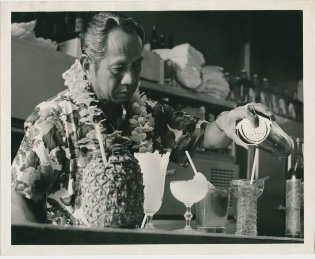 """""""One of the Lees?"""" Don the Beachcomber, Marina Del Rey auction material via Tiki Central"""
